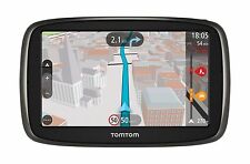 "TOMTOM GO 51 5"" GPS with Traffic Lifetime Speed Cameras + Maps Free Express Post"