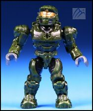 HALO MEGA BLOKS UNSC GREEN SPARTAN MINI FIGURE