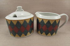 Sasaki China TUSCANY Covered Sugar Bowl & Creamer