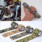 5cm*4.5M Elastic Camo Waterproof Wrap Gun Hunting Camping Stealth Tape Outdoor