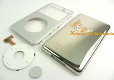 Silver Faceplate Housing Case Cover Clickwheel Button for iPod 6th Classic 80GB