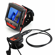 Watch Type Industrial Endoscope Borescope Video Inspection Tube Camera 6 LED