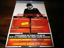 JEAN LOUIS AUBERT - Plan média / Press kit !!! COMME ON A DIT !!!