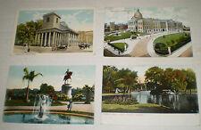 Four Postcard Views of Boston, Mass. (circa early 1900s)