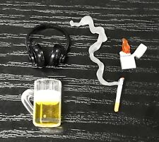 FIG-CLBH: 1/12 Cigarette Lighter Beer Mug Headphone for Marvel Legends, Mezco