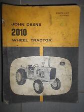 Case tracteur - wheel tractor 2010 : parts list 1963