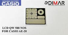 ORIGINAL LCD QW-588 NOS FOR CASIO AE-20