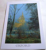 England Oxford St Mary's Church the Radcliffe Camera & Corpus Christi College -