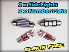 BMW E46 E90 Canbus Luz Lateral Número De Matrícula LED Kit Error Libre 501 39 mm e92 e60