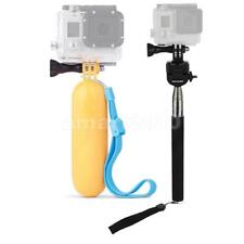 Handle Extending Monopod + Waterproof Floating Hand Grip for Action Camera