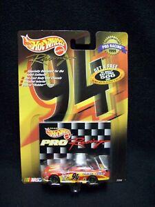 Hot Wheels Pro Racing 1997 McDonalds Bill Elliott Nascar.