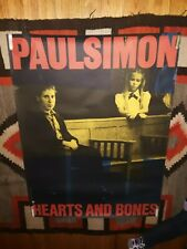 Paul Simon Hearts And Bones Huge Original 1983 Promo Poster - Free S&H