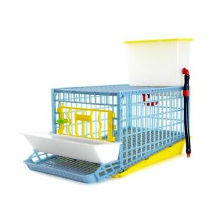 Quail Cage - 1 Section (Easy to Clean, Hygienic & Effective Breeding)