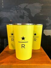 Starbucks Reserve Roastery and Tasting Room Yellow Cup Tumbler 12oz Seattle one