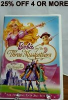Barbie and The Three Musketeers (DVD, 2009, Canadian, Eng/Fre)25% Off 4 Or More!