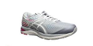 ASICS Womens Gel-Cumulus 21 Gray Running Shoes Size 11.5 (1621054)