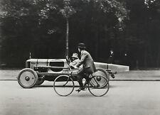 """Jacques-Henri LARTIGUE: Paris, a Singer de course: """"Bunny III"""", 1912/ BLINDSTAMP"""