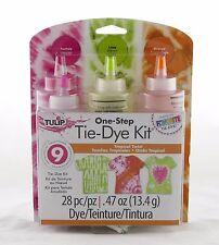 Tropical Twist One Step Tie Dye Kit Tulip NEW tye die craft activity party art