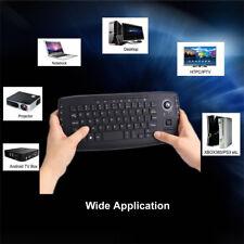 E30 Black 2.4G Mini Wireless Keyboard Multi-media Functional Trackball Air Mouse