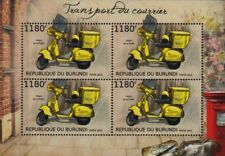 Correos VESPA PX 125 (Espagnol Post Office Mail Scooter) Moto STAMP SHEET