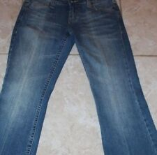 Industrialization Women's Jeans Pants Size 7 Stretch Extra Stitching Boot Cut