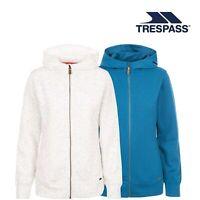 Trespass Womens Hoodie Full Zip Pockets Winnie