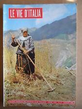 VIE D'ITALIA n°8 1960 Pittore Ottone Rosai - Le Roulottes  [G473]