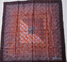 """Joli foulard """" CHRISTIAN DIOR """" vintage soie  scarf - 80 cm x 80 cm /"""