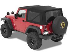 Jeep Wrangler JK (2007-) # 54822-17 Verdeck schwarz Softtop Klappverdeck Top