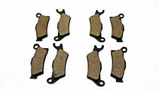 Can-Am Renegade 1000 Brake Pads Front and Rear Brakes fits 2012 2013 2014