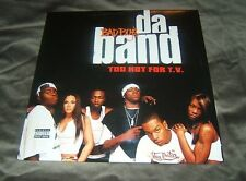 "Bad Boy's Da Band   ‎– Too Hot For T.V. 2003 2x12"" Bad Boy Entertainment ‎ NEW"