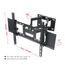 Full Motion Dual Arm TV Wall Mount 32 39 40 50 65 70 for Samsung Vizio LG Sony
