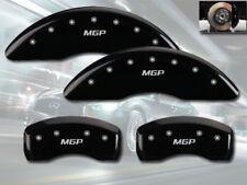 "2015 Q40 Front + Rear Black Engraved ""MGP"" Brake Disc Caliper Covers 4pc Set"