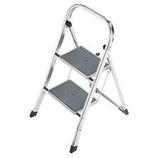 Hailo K30 Klapptritt 2 Stahl-Stufen Haushaltsleiter Aluleiter Klappleiter Leiter