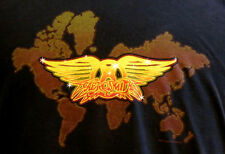 Aerosmith 2007 Tour VIP Concert Black T-Shirt L