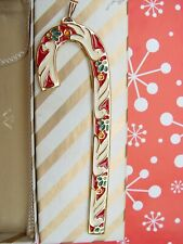 Wallace Candy Cane Christmas Ornament 1985 Dove 5th Edition