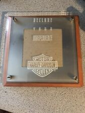 "Harley-Davidson Motorcycles Licensed Picture Photo Frame Wood Glass  3.5"" x 5"""