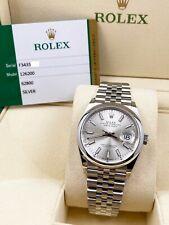 Rolex Datejust Silver Men's Watch - 126200