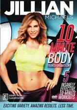Jillian Michaels: 10 Minute Body Transformation  - DVD - NEW Region 4