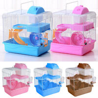 2 Tiers Gorgeous Hamster Mouse Cage pet toy Storey Fantasia Hamster Cage Castle