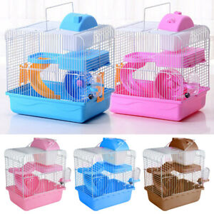 2 Tiers Gorgeous Hamster Mouse Cage Storey Fantasia Hamster Cage Castle