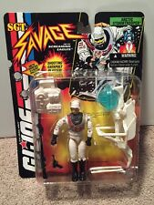 GI Joe Sgt Savage Arctic Stormtrooper 1994 Hasbro Action Figure