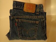 WOMEN'S LEVI JEANS * MISS 12 S FOR SHORT LEVIS CLASSIC RELAXED 550 JEANS