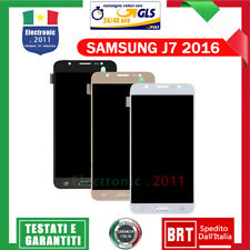 Display LCD + Touch Screen Schermo Vetro Samsung Galaxy J7 2016 J710 SM-J710FN