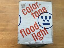 WESTINGHOUSE 100W AMBER COLOR-TONE FLOOD LIGHT PAR38 MEDIUM BASE IN BOX VINTAGE