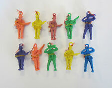 "10 NEW ARMY PARACHUTE MEN 2.25"" PARATROOPERS TOY SOLDIERS PARTY FAVORS"