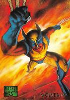 WOLVERINE / 1995 Marvel Masterpieces (Fleer) Base Trading Card #112