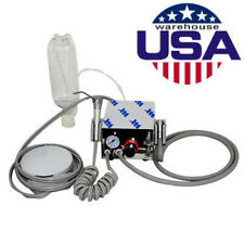 New Listingportable 4 Hole Dental Turbine Unit Compressor System Handpiece With Water Bottle