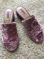 New Forever 21 Shoes Heels Muller Sliders Size 6