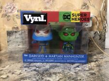 New Funko Vynl Darkseid + Martian Manhunter Vinyl Collectible 2 Pack DC